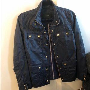 J crew field jacket XXS